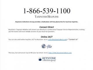 keystone helpline 2020